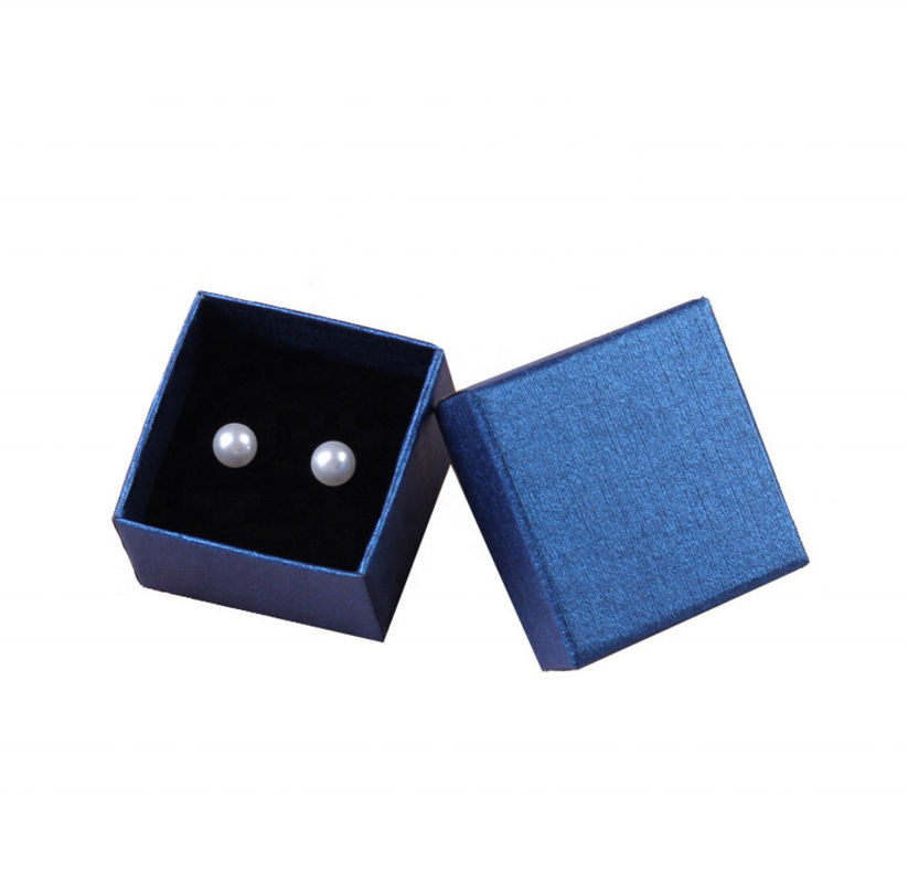 Manufacturer Wholesale Custom Jewelry Box Recyclable Gift Box With Sponge Inner Cushion