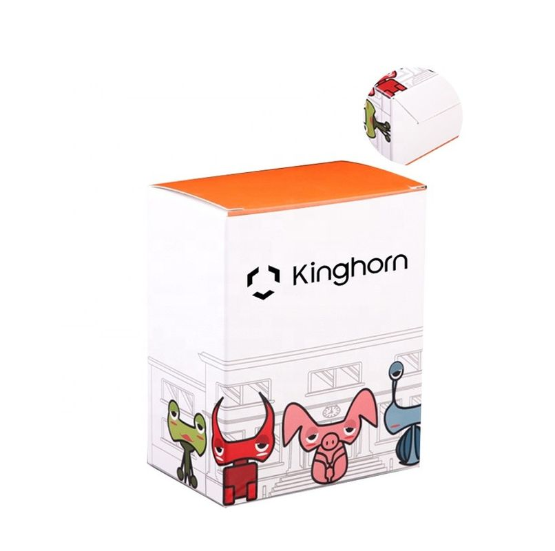 Luxury  Customized Logo Printing  Recycled Materials Folding   Card Paper Toy Packaging Box Toy Paper Box